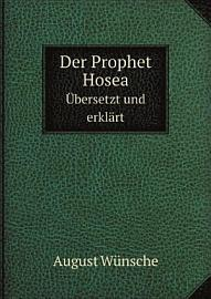 Der Prophet Hosea PDF