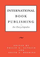 International Book Publishing  An Encyclopedia PDF