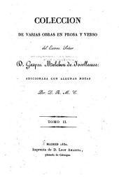 Coleccion de varias obras en prosa y verso: Volumen 2