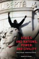 States and Nations  Power and Civility PDF