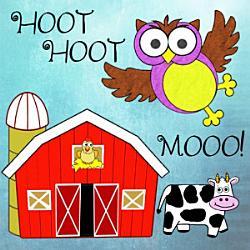 Hoot! Hoot! Mooo