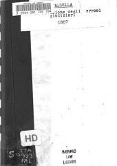 Per la revisione degli errori giudiziari: Interpellanza di Giovanni Faldella svolta alla Camera dei deputati nella tornata del 25 maggio 1887, con la risposta del ministro di grazia e giustizia e la replica dell'interpellante