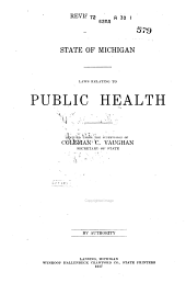 Laws Relating to Public Health