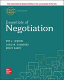 Essentials Of Negotiation Book PDF