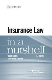 Insurance Law in a Nutshell: Edition 5
