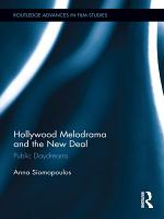 Hollywood Melodrama and the New Deal PDF
