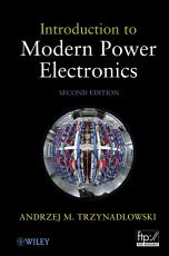 Introduction to Modern Power Electronics PDF