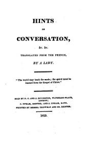 La langue. Hints on conversation, &c. ... Translated ... by a Lady
