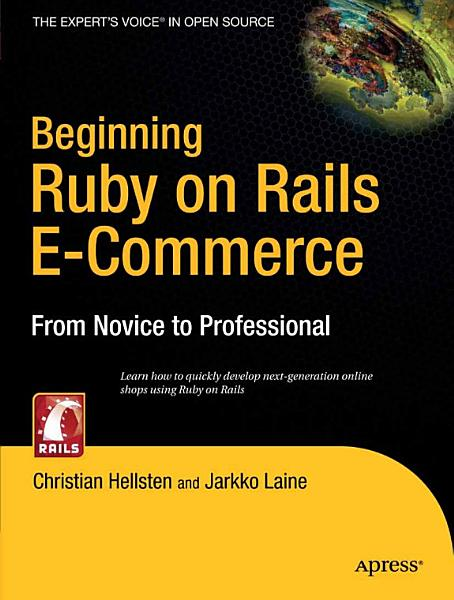 Beginning Ruby on Rails E-Commerce Pdf Book