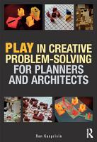 Play in Creative Problem solving for Planners and Architects PDF