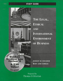 The Legal  Ethical and International Environment of Business