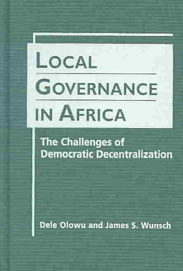 Local Governance in Africa PDF