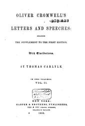 Oliver Cromwell's Letters and Speeches: Volume 2