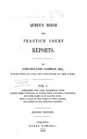 Queen's Bench and Practice Court Reports ... [1844-1882].