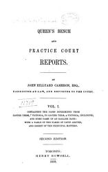 Queen S Bench And Practice Court Reports Book PDF