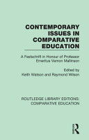 Contemporary Issues in Comparative Education PDF