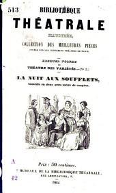 La nuit aux soufflets: comédie en deux actes, mêlée de couplets