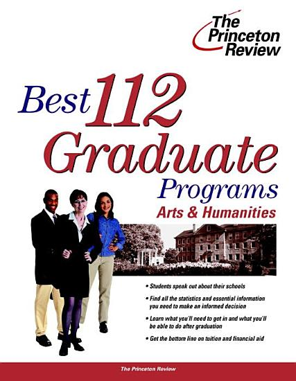 Complete Book of Graduate Programs in the Arts and Sciences PDF