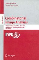 Combinatorial Image Analysis PDF