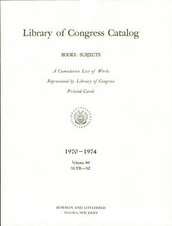 Library of Congress Catalog PDF