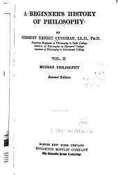 A Beginner's History of Philosophy: Volume 2