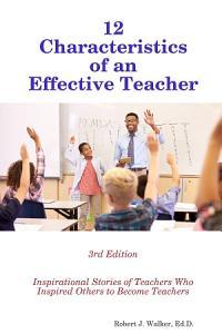 12 Characteristics of an Effective Teacher PDF