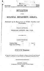 Bulletin of the Botanical Department, Jamaica ...