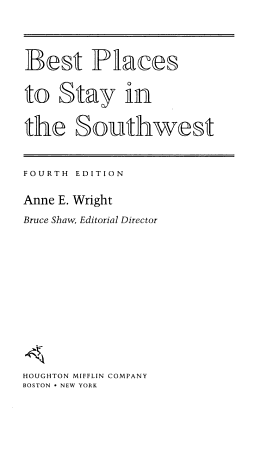 Best Places to Stay in the Southwest PDF