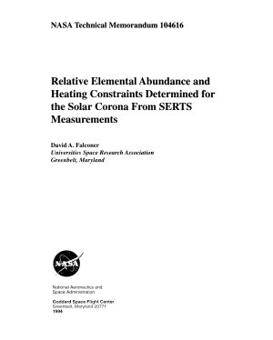 Relative Elemental Abundance and Heating Constraints Determined for the Solar Corona from SERTS Measurements