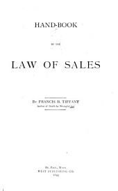 Hand-book of the Law of Sales