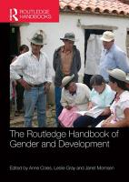 The Routledge Handbook of Gender and Development PDF