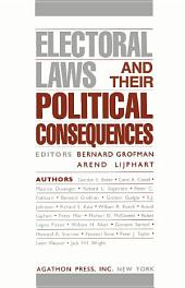 Electoral Laws and Their Political Consequences