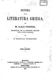 Historia de la literatura griega, 2