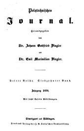 Dinglers polytechnisches journal: Band 117