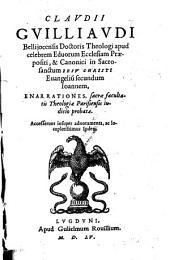 In evangelium secundum Joannem enarrationes. -Lugduni, Rovillius 1555