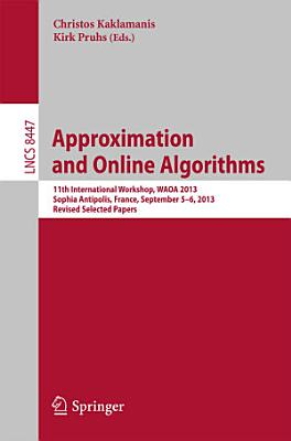 Approximation and Online Algorithms PDF
