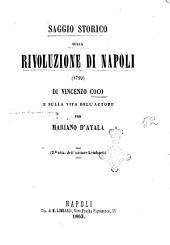 Saggio storico sulla rivoluzione di Napoli 1799 di Vincenzo Coco [i.e. Cuoco]