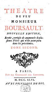 Théâtre de Boursault: Volume2
