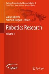 Robotics Research: Volume 1