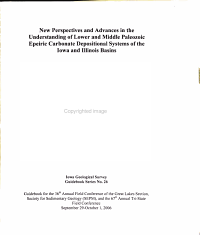 New Perspectives and Advances in the Understanding of Lower and Middle Paleozoic Epeiric Carbonate Depositional Systems of the Iowa and Illinois Basins PDF