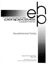 Risk Assessment for Neurobehavioral Toxicity