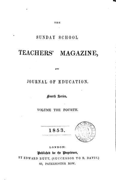 Download the sunday school teacher s magazine Book