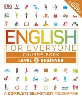 English for Everyone Course Book Level 2 Beginner PDF