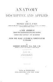 Anatomy, descriptive and applied: Volume 3