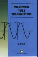 Microwave Tube Transmitters PDF