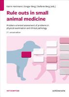 Rule outs in small animal medicine PDF