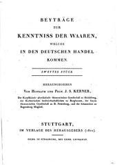 Natur- Und Handelsgeschichte Des Härings, Der Sprotte, Alse Und Sardelle: 2