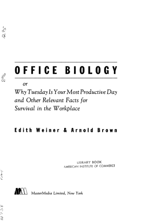 Office Biology PDF