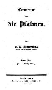 Commentar über die Psalmen: Band 4,Ausgabe 2