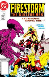 Firestorm: The Nuclear Man (1987-) #73